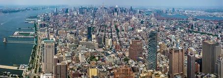 πόλη Μανχάτταν Νέα Υόρκη Στοκ Εικόνα