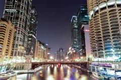Πόλη μαρινών - Σικάγο στοκ εικόνα