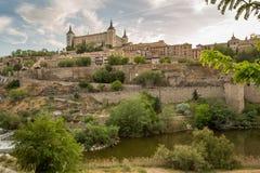 πόλη μεσαιωνικό Τολέδο στοκ φωτογραφίες με δικαίωμα ελεύθερης χρήσης