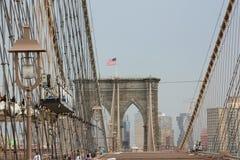 πόλη Νέα Υόρκη γεφυρών Στοκ Εικόνα