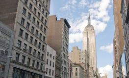πόλη Νέα Υόρκη κτηρίων Στοκ Εικόνες