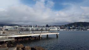 πόλη νέος Ουέλλινγκτον Ζηλανδία Στοκ εικόνες με δικαίωμα ελεύθερης χρήσης