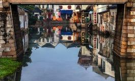 Πόλη νερού Στοκ Εικόνες
