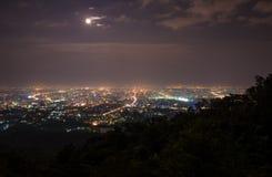 Πόλη νύχτας Στοκ Εικόνες