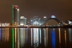 Πόλη νύχτας. Στοκ Εικόνες