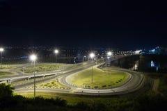 Πόλη νύχτας Στοκ Φωτογραφίες