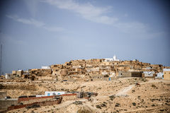 Πόλη οάσεων της Τυνησίας Στοκ Εικόνες