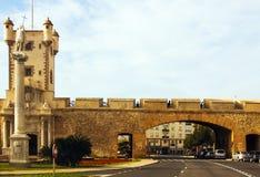 Πόλη ονομασμένο πύλη Las Puertas de Tierra Στοκ Εικόνες