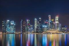 Πόλη Σινγκαπούρης στοκ φωτογραφία
