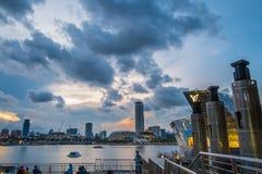 πόλη Σινγκαπούρη Στοκ εικόνες με δικαίωμα ελεύθερης χρήσης