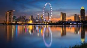 πόλη Σινγκαπούρη Στοκ φωτογραφία με δικαίωμα ελεύθερης χρήσης