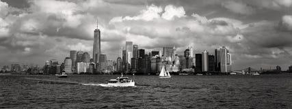 πόλη στο κέντρο της πόλης Νέα Υόρκη Στοκ Φωτογραφίες