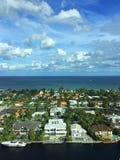 Πόλη στο ύδωρ Στοκ Φωτογραφία