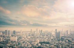 πόλη Ταϊλάνδη της Μπανγκόκ Στοκ Φωτογραφία