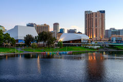Πόλη της Αδελαΐδα, Αυστραλία Στοκ φωτογραφία με δικαίωμα ελεύθερης χρήσης