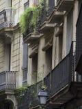 Πόλη της Βαρκελώνης Στοκ φωτογραφίες με δικαίωμα ελεύθερης χρήσης