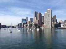 Πόλη της Βοστώνης Στοκ φωτογραφία με δικαίωμα ελεύθερης χρήσης