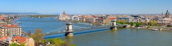 Πόλη της Βουδαπέστης Στοκ Εικόνα