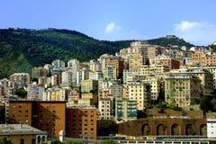 Πόλη της Γένοβας, Ιταλία Στοκ φωτογραφία με δικαίωμα ελεύθερης χρήσης