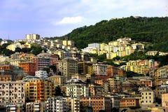 Πόλη της Γένοβας, Ιταλία Στοκ Εικόνες
