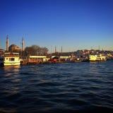 Πόλη της Ιστανμπούλ Στοκ Φωτογραφίες