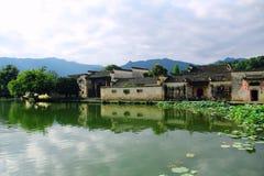 Πόλη της Κίνας Huangshan, Anhui Hongcun Στοκ Εικόνες