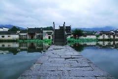 Πόλη της Κίνας Huangshan, Anhui Hongcun Στοκ εικόνες με δικαίωμα ελεύθερης χρήσης