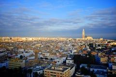 Πόλη της Κασαμπλάνκα Στοκ φωτογραφία με δικαίωμα ελεύθερης χρήσης