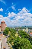 Πόλη της Κρακοβίας Στοκ εικόνες με δικαίωμα ελεύθερης χρήσης
