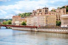 Πόλη της Λυών στη Γαλλία Στοκ Φωτογραφίες