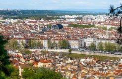Πόλη της Λυών Στοκ φωτογραφία με δικαίωμα ελεύθερης χρήσης