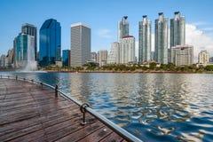 Πόλη της Μπανγκόκ κεντρικός, Μπανγκόκ, Ταϊλάνδη Στοκ φωτογραφία με δικαίωμα ελεύθερης χρήσης