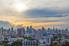 Πόλη της Μπανγκόκ. Στοκ Φωτογραφίες