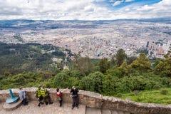 Πόλη της Μπογκοτά Κολομβία στοκ φωτογραφία με δικαίωμα ελεύθερης χρήσης