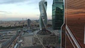 Πόλη της Μόσχας από το copter 1 φιλμ μικρού μήκους