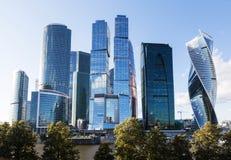 Πόλη & x28 της Μόσχας Διεθνής επιχείρηση της Μόσχας Center& x29 , Ρωσία Στοκ Φωτογραφία