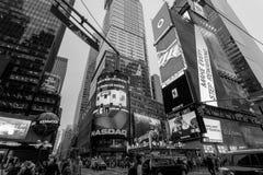 Πόλη της Νέας Υόρκης νύχτας Στοκ Εικόνα