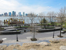 Πόλη της Νέας Υόρκης, πάρκο μπαταριών Στοκ Εικόνες