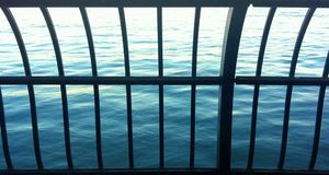 Πόλη της Νέας Υόρκης ποταμών του Hudson Στοκ φωτογραφία με δικαίωμα ελεύθερης χρήσης