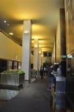 Πόλη της Νέας Υόρκης, στις 2 Αυγούστου: Εσωτερικό κεντρικού κτηρίου Rockefeller στην πόλη της Νέας Υόρκης Στοκ Εικόνα