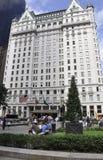 Πόλη της Νέας Υόρκης, στις 2 Αυγούστου: Κτήριο ξενοδοχείων Plaza από το Μανχάταν στη Νέα Υόρκη Στοκ Εικόνες