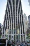 Πόλη της Νέας Υόρκης, στις 3 Αυγούστου: Οικοδόμηση της Apple Store από το Μανχάταν στη Νέα Υόρκη Στοκ Εικόνες