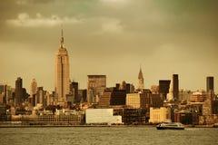 Πόλη της Νέας Υόρκης Στοκ φωτογραφίες με δικαίωμα ελεύθερης χρήσης