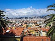 Πόλη της Νίκαιας, νότια Γαλλία Στοκ εικόνες με δικαίωμα ελεύθερης χρήσης