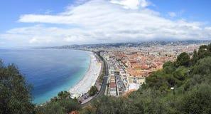 Πόλη της Νίκαιας, νότια Γαλλία Στοκ φωτογραφία με δικαίωμα ελεύθερης χρήσης