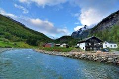 Πόλη της Νορβηγίας Στοκ φωτογραφία με δικαίωμα ελεύθερης χρήσης