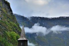 Πόλη της Νορβηγίας Στοκ εικόνα με δικαίωμα ελεύθερης χρήσης