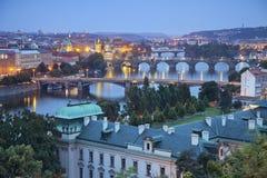 Πόλη της Πράγας. Στοκ εικόνες με δικαίωμα ελεύθερης χρήσης