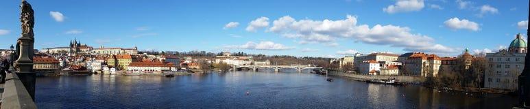 Πόλη της Πράγας Στοκ Εικόνες