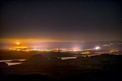 Πόλη της σελίδας Αριζόνα τη νύχτα Στοκ φωτογραφίες με δικαίωμα ελεύθερης χρήσης